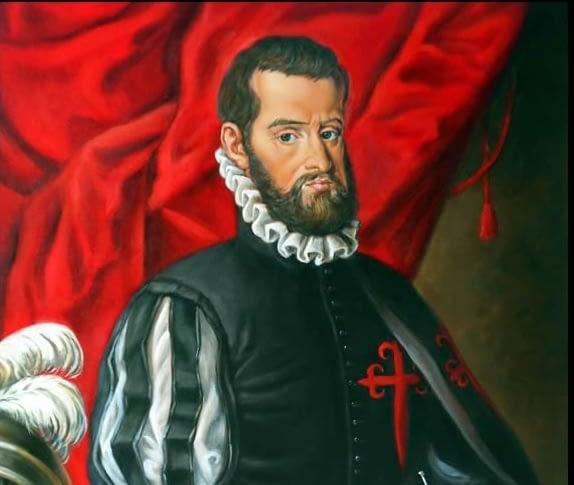 Pedro Menéndez de Avilés, fundador de San Agustín, hoy Austin, capital de Texas