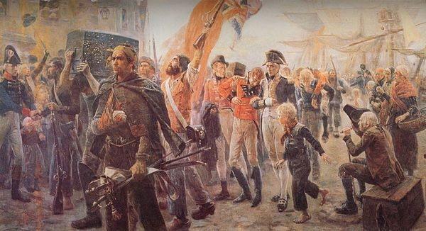 La secesión de los países hispanoamericanos, plagada de mercenarios ingleses