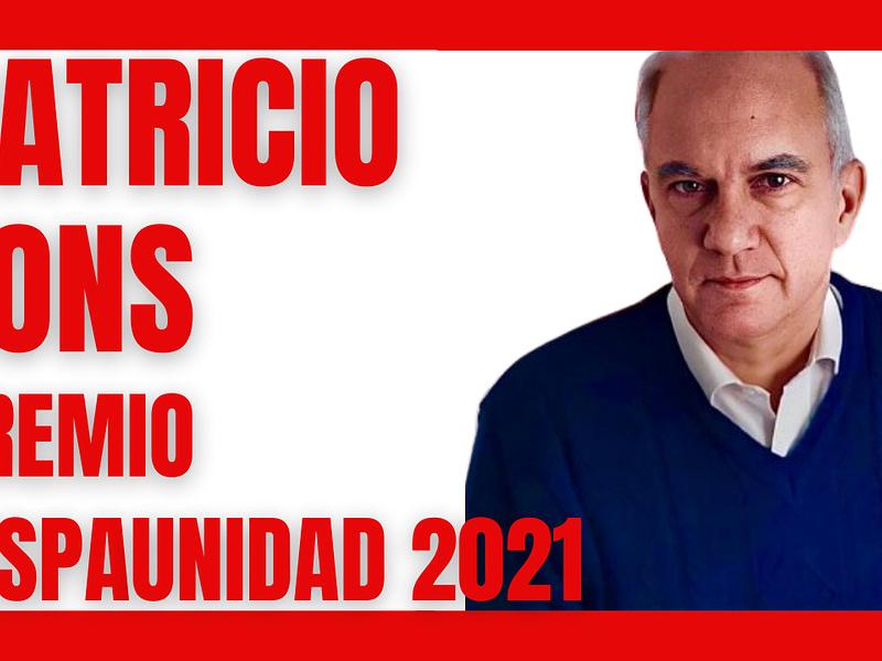 Patricio Lons, ganador del premio HispaUnidad 2021